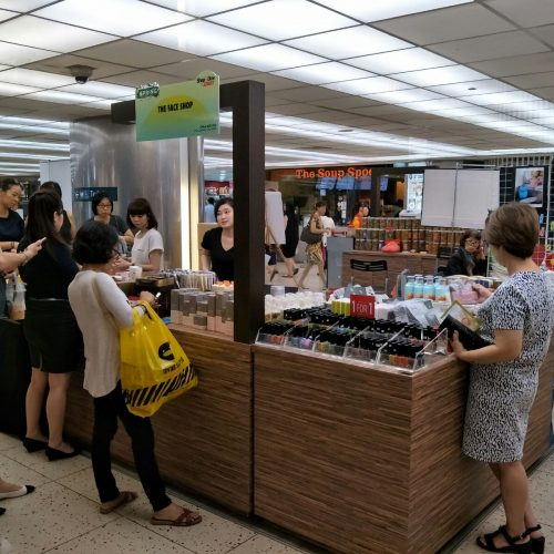 Raffles Exchange - The Face Shop